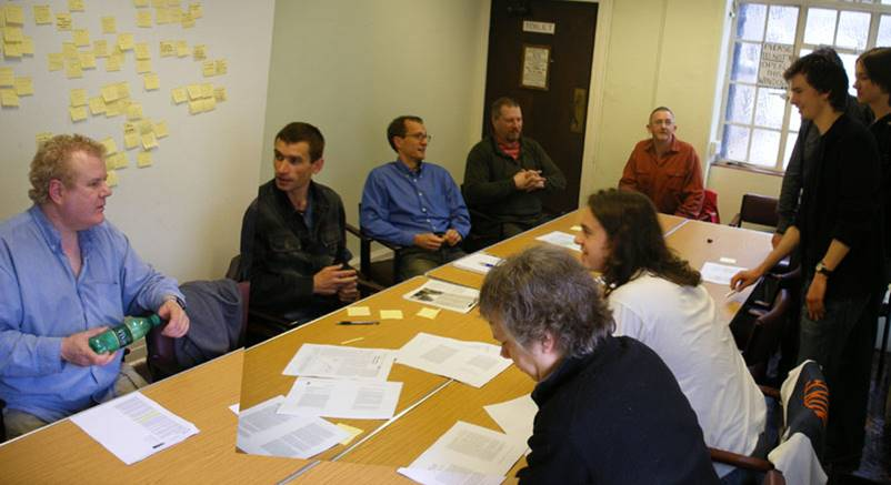 Extrobritannia meeting on Longevity Dividend 2006.jpg