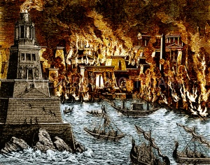C0304450-Burning of the Royal Library of Alexandria.jpg